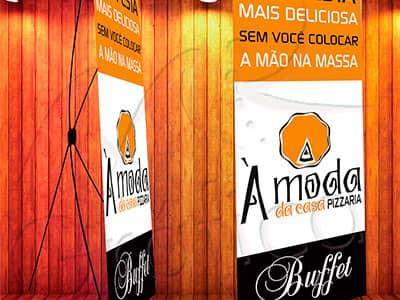 Banner A Moda da Casa Pizzaria