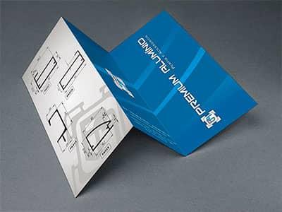 Folder Premium Aluminio
