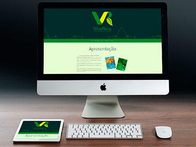 Site Vila Rica Consultoria